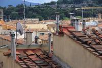 Stillleben: Auf den Dächern von Florenz