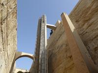 Malta, Fahrstuhl in die Altstadt