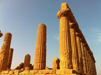 im Tal der Tempel in Agrigento - Junotempel