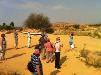 im Tal der Tempel in Agrigento