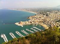 Blick auf Castellamare del Golfo
