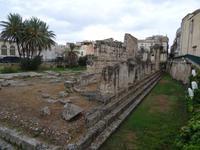 Syrakus - Reste des Apollon Tempel