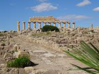 Selinunte - Akropolis mit Apollon Tempel