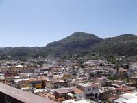 Blick vom Archäologischen Park auf Lipari