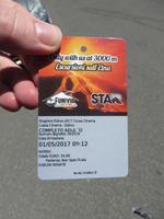 Ticket für Seilbahn und Jeep