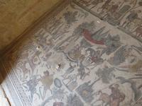 Mosaikböden in der Villa Romana mit