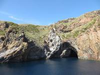 Grotte auf Vulcano