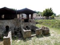 Villa Romana: die ehemalige Fußbodenheizung