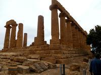 Agrigento:der Heratempel im