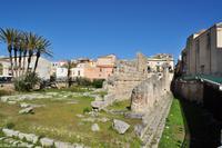 Insel Ortygia (Syrakus) - Apollon-Tempel