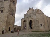 Erice:  Fassade der Chiesa Matrice