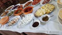 Mittag beim Borgo San Nicolao