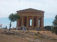 einer der besterhaltenen: Concordia Tempel in Agrigent