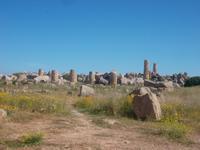 Reste des Apollon-Tempels von Selinunt