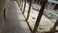 Villa Romana del Casa- Bodenmosaik im Säulengang-2