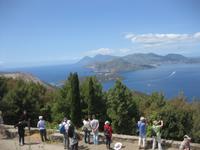 Vulcano - Inselrundfahrt - Blick auf Lipari und Salina