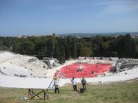 Siracusa - Archäologische Zone - das Griechische Theater