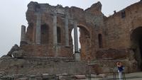 Taormina griechisch-römisches Theater 20180414_143657