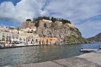 Akropolis von Lipari Stadt