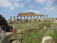 Ausgrabungsstätte Selinunte - Teile der Akropolis einer antiken Stadt