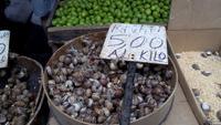 Catania, Stadtführung mit Simon,Besuch des Fisch-und Gemüsemarkts