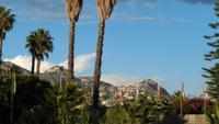 Blick nach Taormina