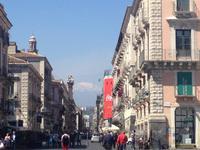 Catania mit Blick auf den Ätna