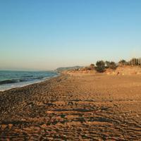 Der Strand in Campofelice di Roccella