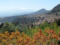Taormina (Auslick vom Antiken Theater)