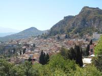 Taormina (Ausblick vom Antiken Theater)
