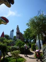 Tarotgarten von Niki de Saint Phalle und Team bei Capalbio, Turm (von Babylon)