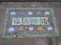 Villa d'Este in Tivoli, Eingang