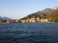 1. Tag Riva del Garda - Blick auf Turbel