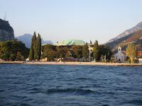 1. Tag Riva del Garda - Blick auf den Hafen von Riva