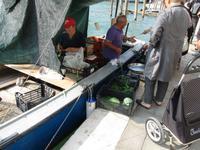 7. Tag Venedig - Gemüsehandel auf venezianisch