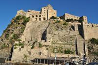 Freizeit - Impressionen aus Ischia Ponte - der Inselhauptstadt - Castello di Aragonese