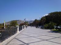 Promenade 'Lungomare' in Reggio
