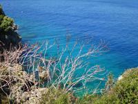 türkisfarben, das Meer
