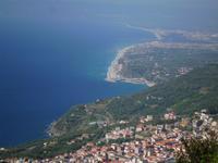 Blick vom Aussichtspunkt Sant Elias
