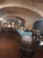 Lagerkeller im Weingut
