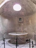 Caldarium der Forumsthermen in Pompeji