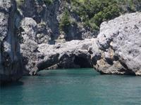 Die küssenden Elefanten bei Amalfi