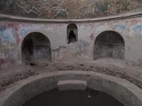 In den Thermen von Pompeji