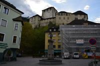 319 Feldkirch in Voralberg, Blick zur Schattenburg