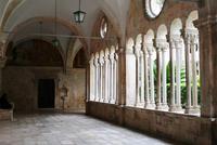 0396 Dubrovnik, Kreuzgang im Franziskanerkloster