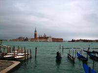0525 Venedig, Blick zur Klosterinsel