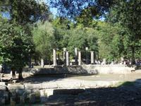 Zu Besuch in Olympia