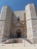 Eingangstor zum Castel del Monte