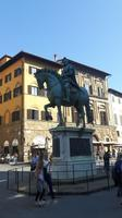 Florenz (Piazza della Signoria - Reiterdenkmal Cosimo I)