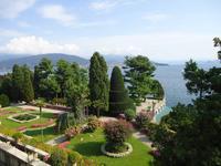 Blick von der Isola Bella auf Pallanza